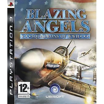 Blazing Angels Squadrons van de Tweede Wereldoorlog (PS3)