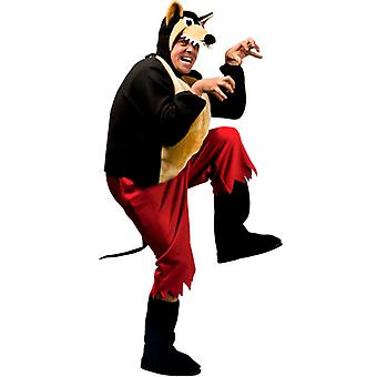 Big Bad Wolf Costume (Pants Coat Bcovers Headpiece Mask)