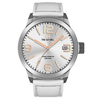 TW stål herre se Marc Coblen Edition TWMC44 wrist watch læder band