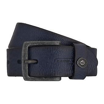 Camel active belt leather belts men's belts can be shortened blue 6816