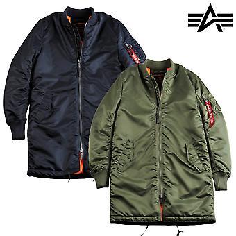 Alpha bransjer jakke MA-1 strøk