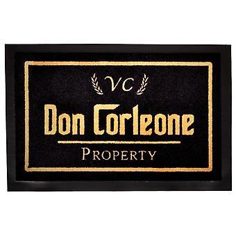 Paillasson de mafia de Don Corleone