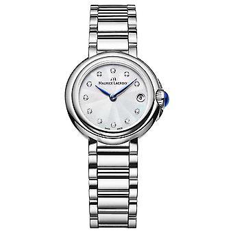 Maurice Lacroix Women's Fiaba 28mm Diamond Set Wristwatch FA1003-SS002-170-1 Watch