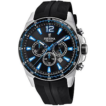 Festina mens watch chronograph F20376/2