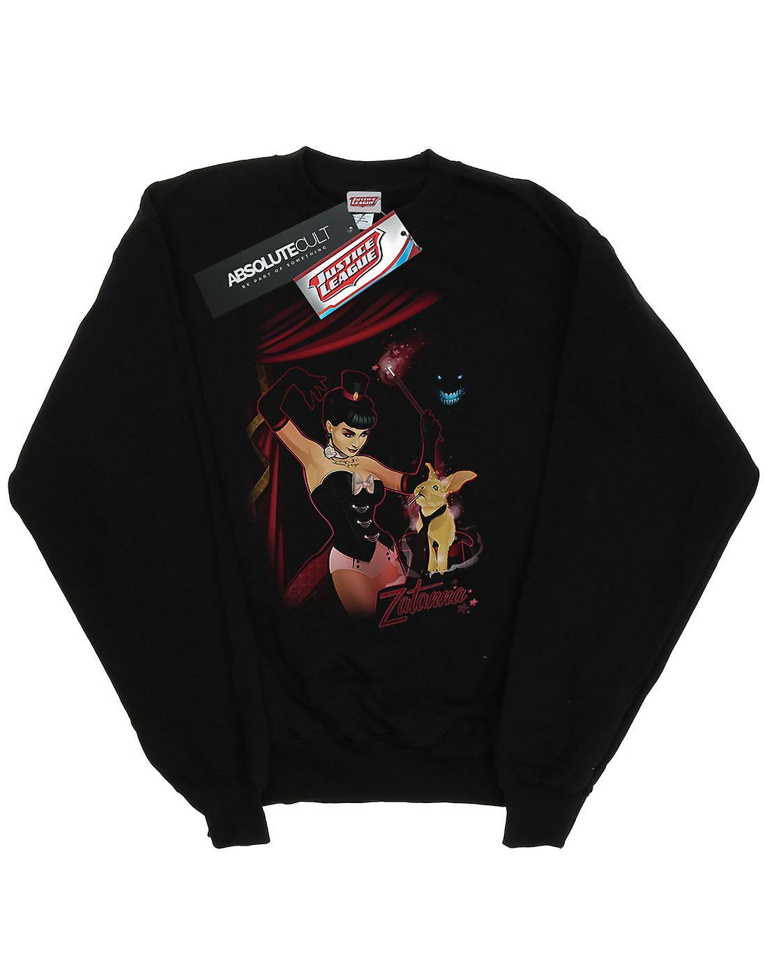 DC Comics flickor Zatanna Bombshell Cover Sweatshirt
