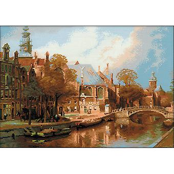 Amsterdam Counted Cross Stitch Kit-21.25
