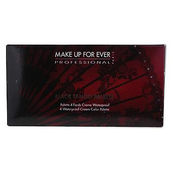 Makeup Forever Black Tango Palette 4 Waterproof Cream Palette New In box
