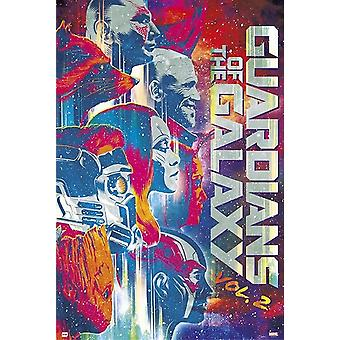 Strażnicy Galaktyki Tom 2 - plakat filmowy wydrukować plakat Poster Print