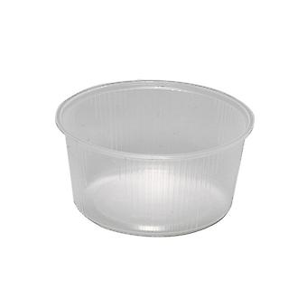 Cup round transparent 250 ml (fp about 100 PCs)