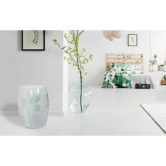 METAL STOOL DESIGN white light green STOOLS MODERN decorative STOOL
