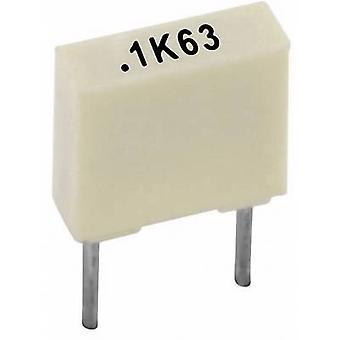 Kemet R82EC1100AA50K+ 1 pc(s) PET capacitor Radial lead 1 nF 100 V 10 % 5 mm (L x W x H) 7.2 x 2.5 mm x 6.5 mm