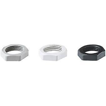 Locknut M63 Polyamide Grey-white (RAL 7035) Jacob 50.263 PA7035 1 pc(s)