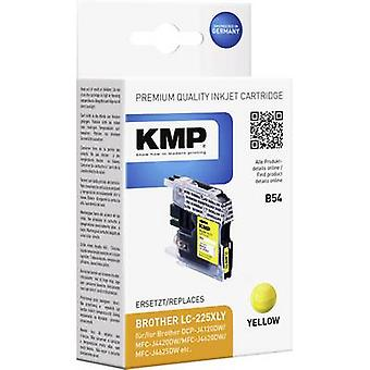 KMP Ink replaced Brother LC-225XLY Compatible Yellow B54 1530,0009