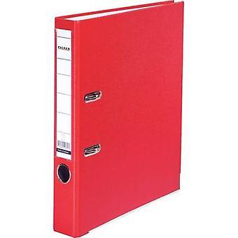 Falken mapp FALKEN PP-färg A4 ryggraden bredd: 50 mm röd 2 fästen 9984162