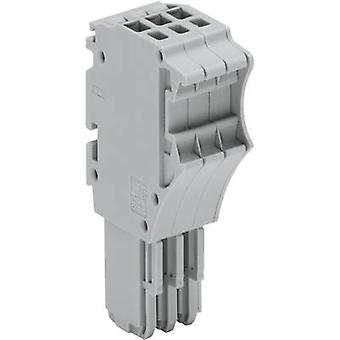 WAGO 2020-115 X-COM S-SYSTEM MINI 1-conductor Receptacles Grey 1 pc(s)