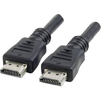 Manhattan HDMI Cable [1x HDMI plug - 1x HDMI plug] 15 m Black