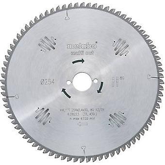 Hoja de metal sierras circulares de carburo 216 x 30 x 1,8 mm cantidad de dientes: 60 Metabo HW/TC 216 X 30 60 FZ/TR5 628083000 1 PC