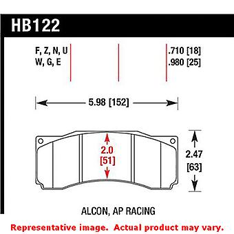 Hawk DTC (Dynamic Torque Control) Brake Pads HB122U.710 Fits:FORD 2007 - 2007 M