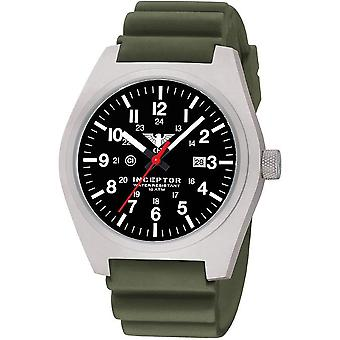 KHS mens watch interceptor steel KHS. INCS. DO