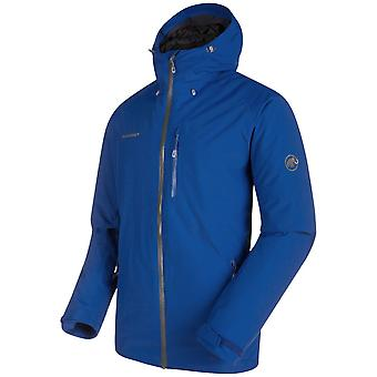 Mammut Men's Runbold HS Thermo Hooded Jacket Waterproof and Breathable