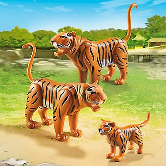 PLAYMOBIL City Life Zoo Tiger Familie