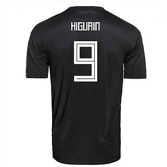 2018-2019 Argentine Away Shirt Adidas Football (Higuain 9) - Kids