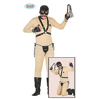 Bondage sex slave costume to the stag JGA mens costume