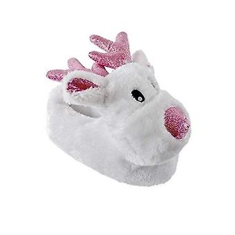 Kids Medium 11/12 Children's Rudolf Novelty Slippers UK Sizes Warm Cosy Gift Christmas