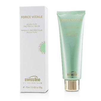 Swissline Force Vitale Aqua-Pure Enzymatic Mask - 75ml/2.5oz