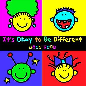 It's Okay to be Different by Todd Parr - 9780316043472 Book