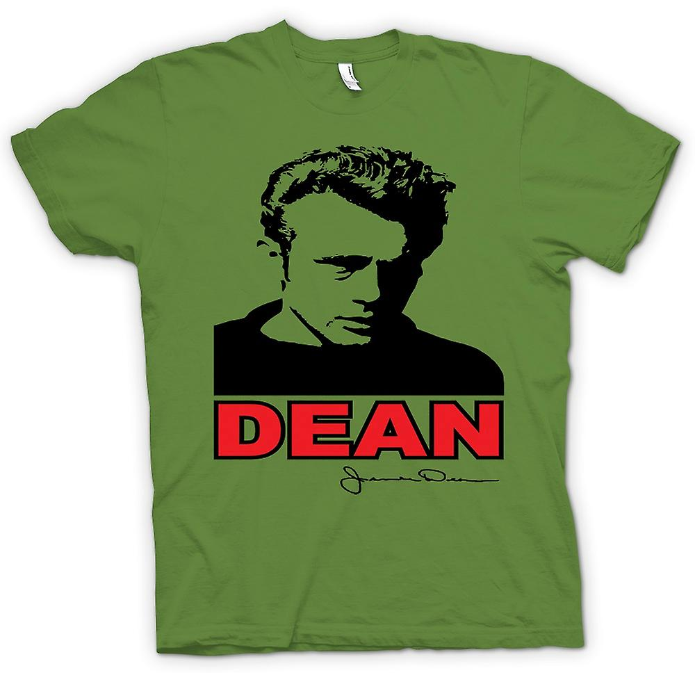 Mens T-shirt - James Dean Pop Art - Movie Icon