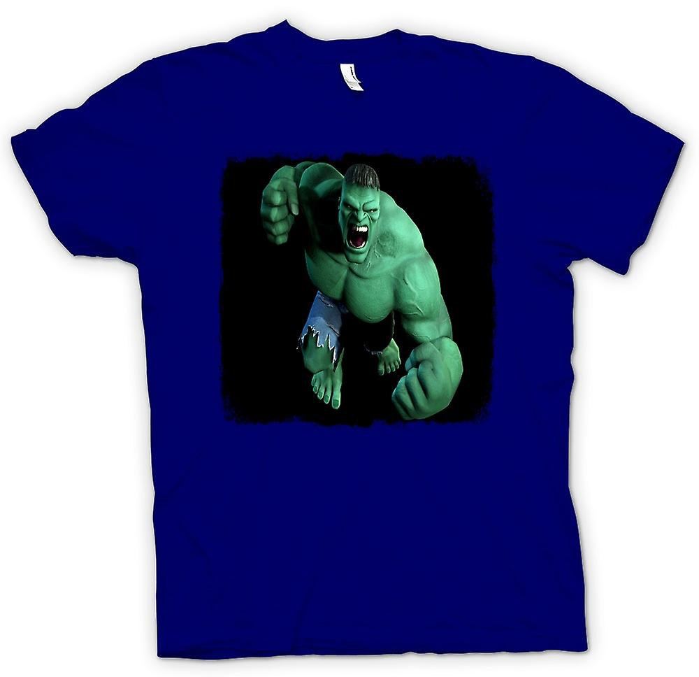 Mens t-shirt - incredibile Hulk - pugno