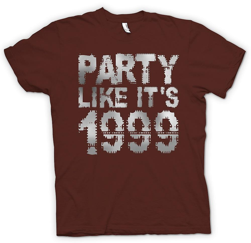 Mens T-shirt - Party wie vom 1999 - Cool