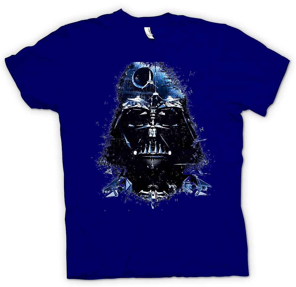 Mens T-shirt - Darth Vader - Death Star