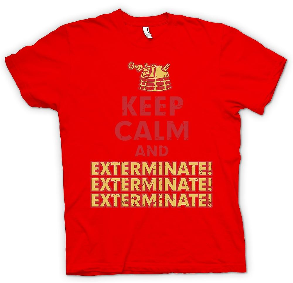 Mens T-shirt - Keep Calm And Exterminate