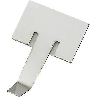543674 Fastener Self-adhesive Silver 1 pc(s)