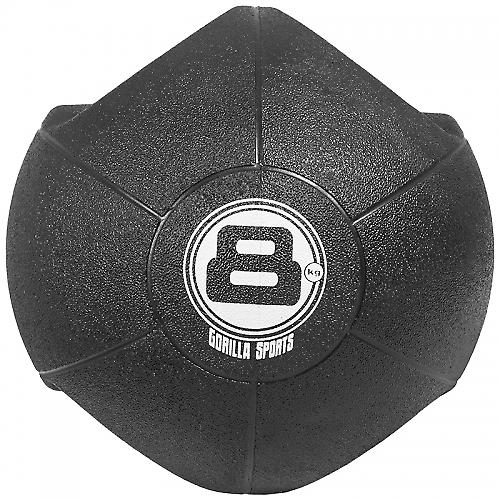 M�decine ball double poign�e de 8kg