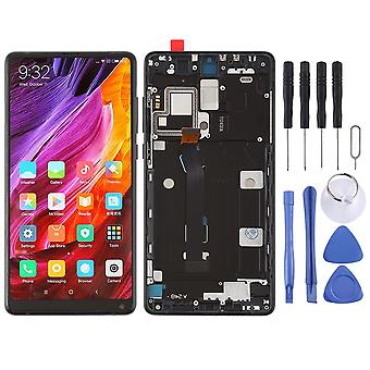 For Xiaomi MI MIX 2 repair display LCD complete unit touch with frame black replacement
