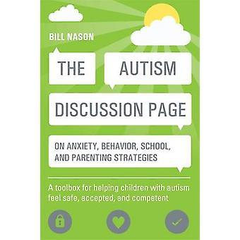 A discussão do autismo página na ansiedade - comportamento - escola - e parêntese