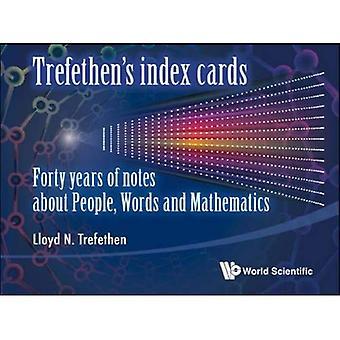 Schede indice di Trefethen: quarant'anni di note sulle persone, parole e matematica