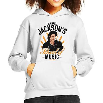 Michael Jacksons School Of Music Kid's Hooded Sweatshirt