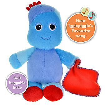 In the Night Garden Snuggly Singing Iggle Piggle Soft 29cm