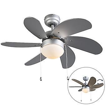 QAZQA Ceiling Fan Fresh 30 Grey