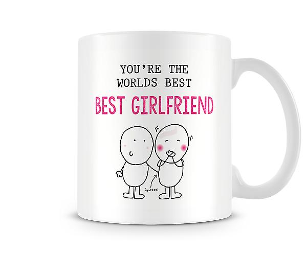 You're The Worlds Best Girlfriend Mug