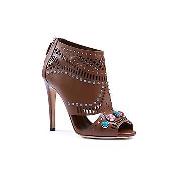 Gucci brun læder sandaler