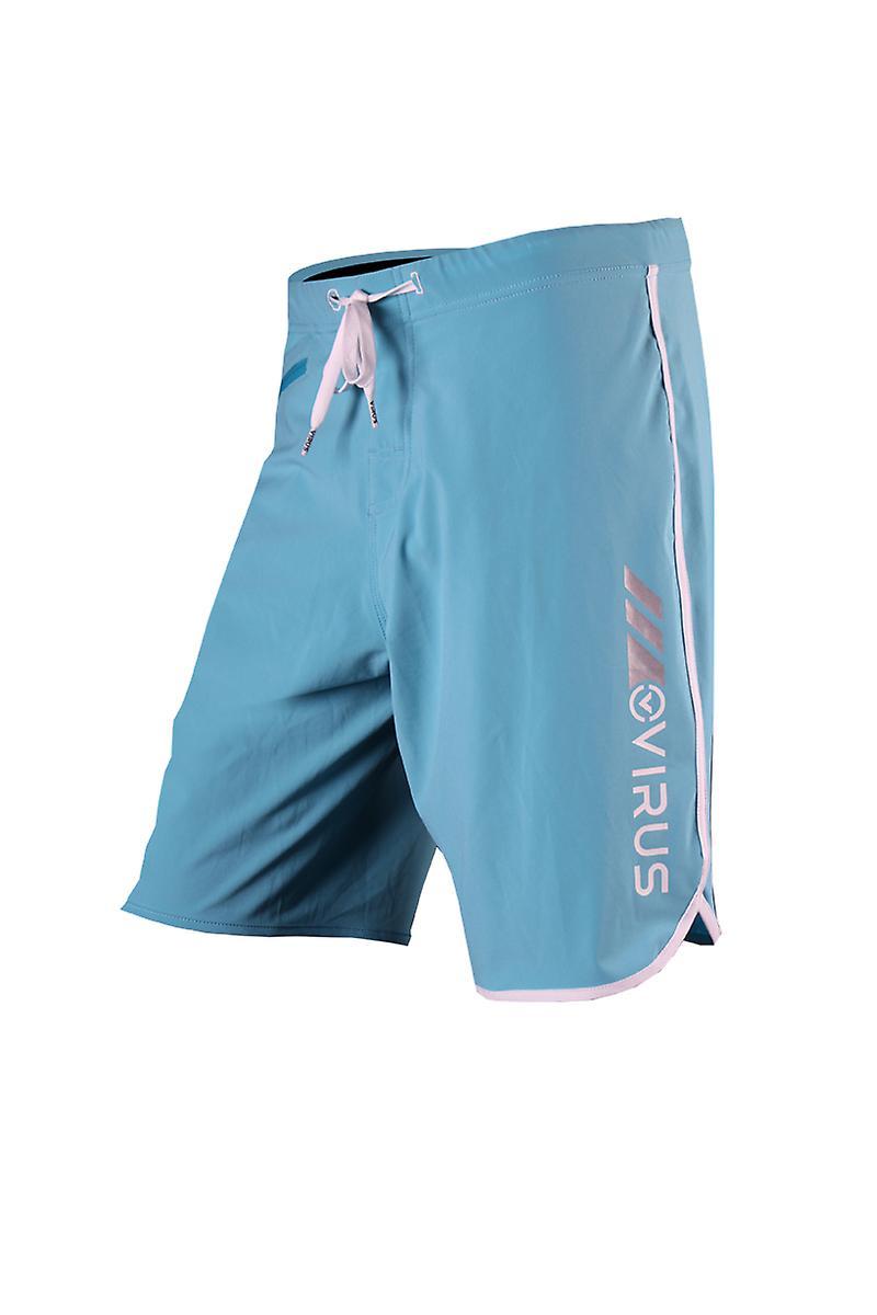 Virus Mens Airflex Training Shorts - bleu blanc - fitness mma training