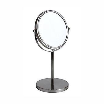 FMG Pedastal 15cm espejo verdadera imagen y 3 aumentos - níquel