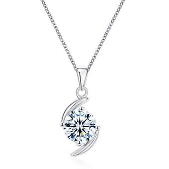 925 Sterling Silver Brilliant Aaaaa Cz Jewellery Set