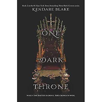 Un Dark Throne (trois couronnes foncés)
