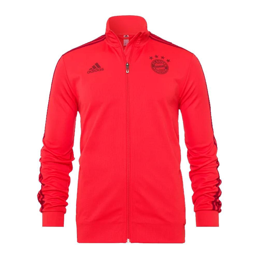 2019-2020 Bayern Munich Adidas Training Jacket (rouge)